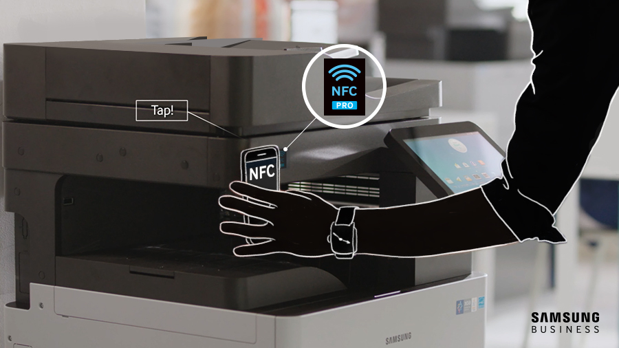 NFC printing technology