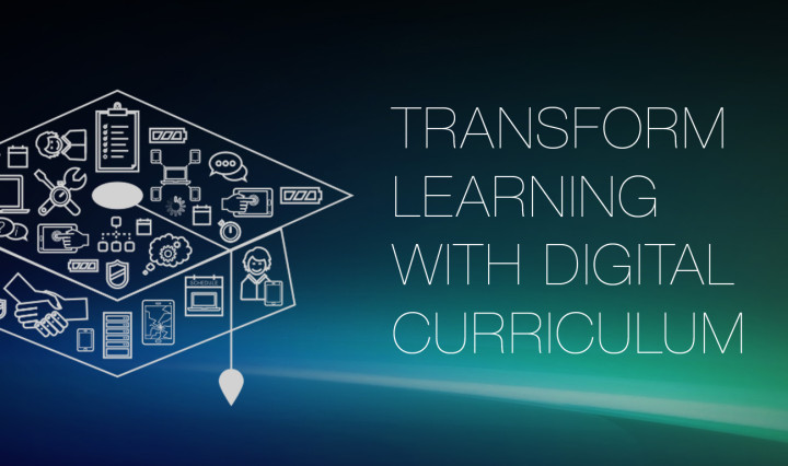 transform learning with digital curriculum