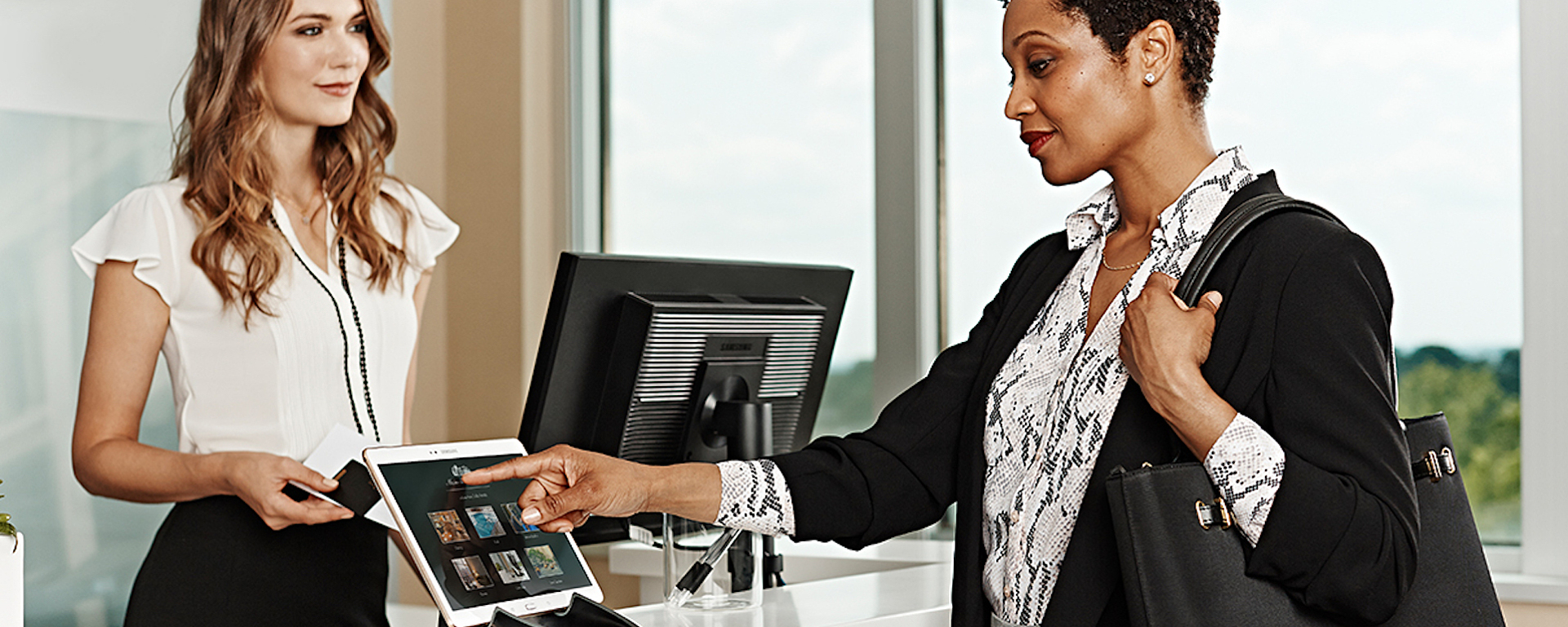 Self-service kiosks are becoming increasingly popular with air passengers.