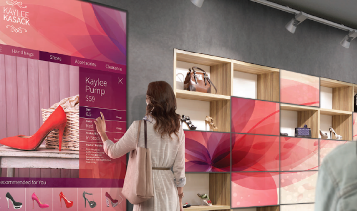 Connected stores are appealing to tech-savvy shoppers.