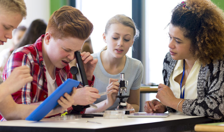 Technology that inverts the student-teacher relationship by encouraging student-driven learning could help revolutionize the classroom.