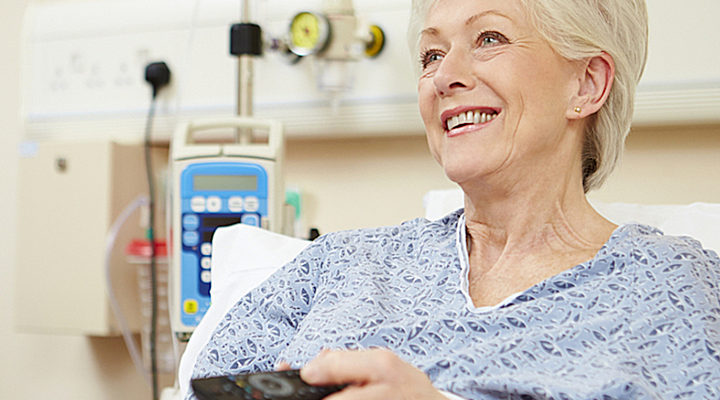 Leading hospitals use tablets and smart TVs to improve patient care.